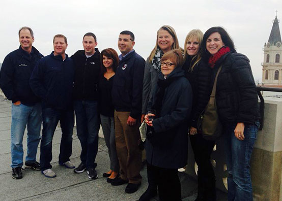 The Capstone Group with the 2013 Israel Public Officials Mission Trip Legislative Delegation, December 2013